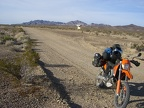 KTM on the Bradshaw Trail
