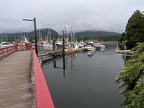 Boats docked in Ucluelet